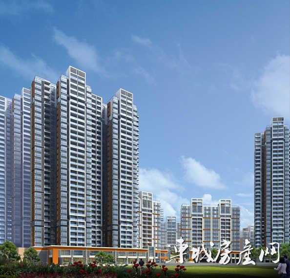 东风阳光城四期正在进行地基桩孔等工程 预计2017年竣工