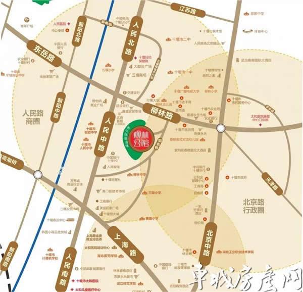 柳林公馆交通图
