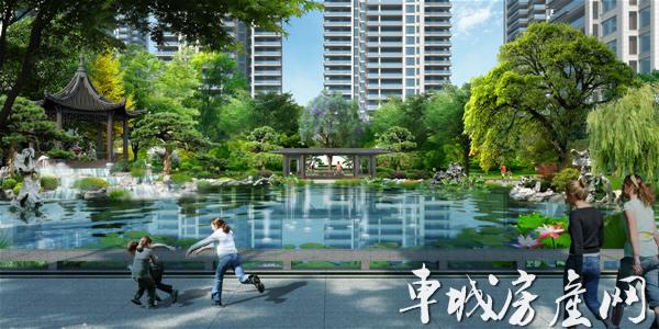 中国中铁·世纪山水效果图-9