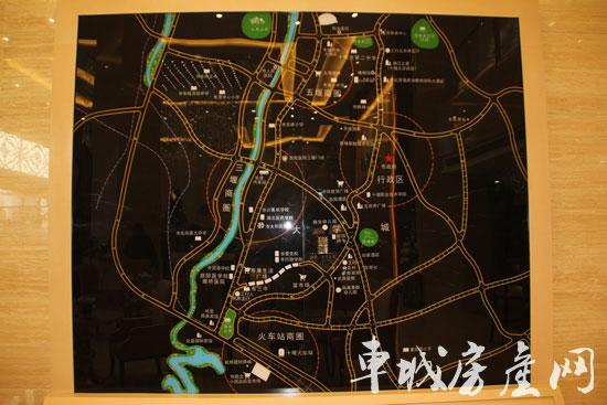 惠隆 九号公馆led电子地图