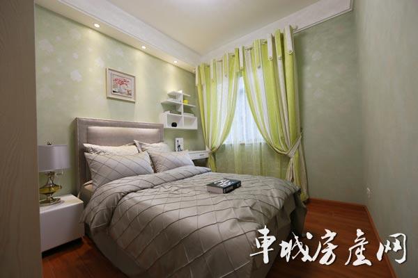 上海路·金座85㎡欧式装修风格样板间赏析|十堰房产