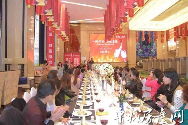 过生日的业主们举办了一场绝对豪华的西式生日party