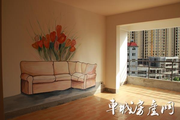 朗琴国际看房通道已全面开通 彩绘样板间精致亮相