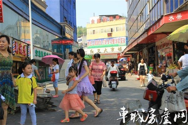 兴丽城看房日记红卫集贸市场