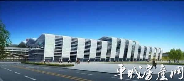 十堰火车站北广场效果图