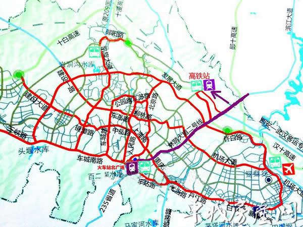 十堰城区地图高清版
