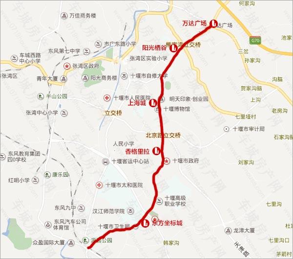 十堰北京路周边楼盘
