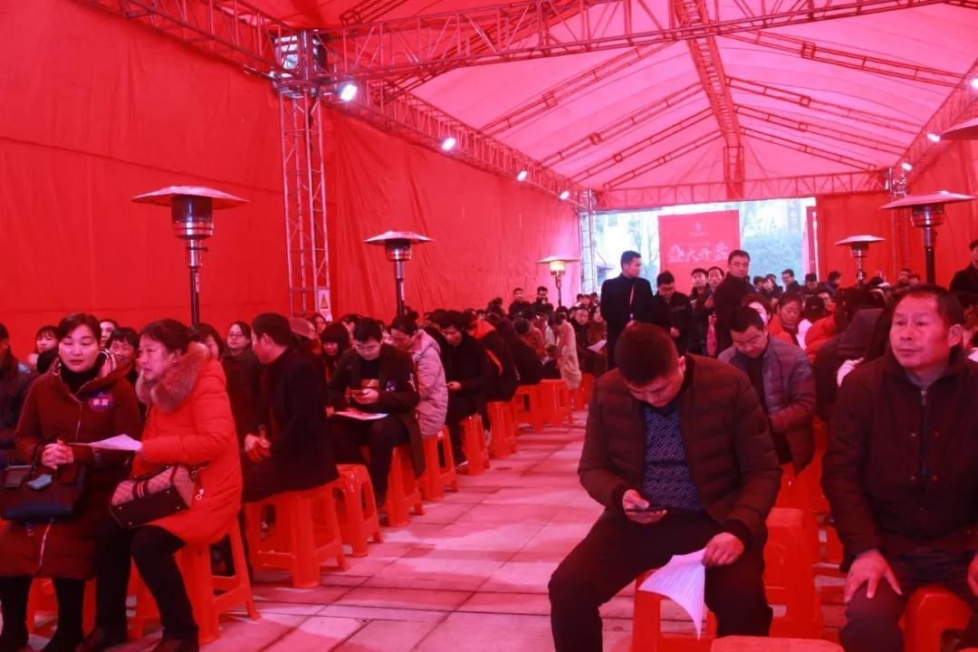 汉成时代9#、11#楼开盘热销