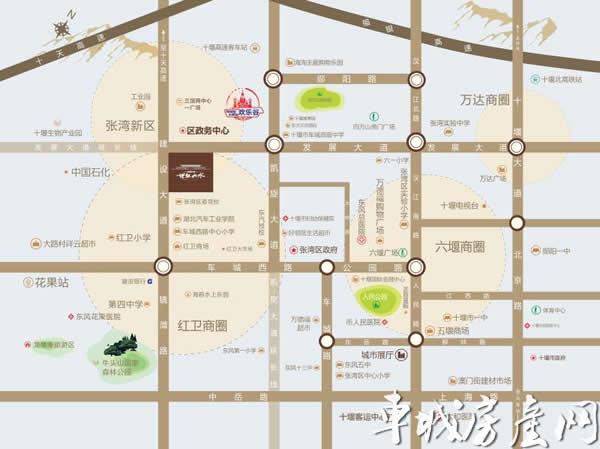 中国中铁·世纪山水区位图