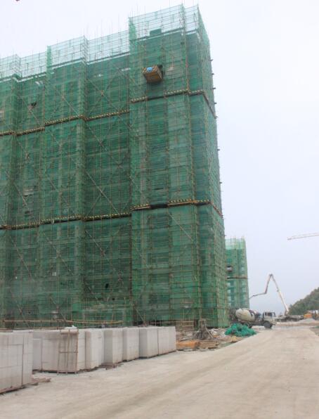 中瑞领航城二期8月工程进度