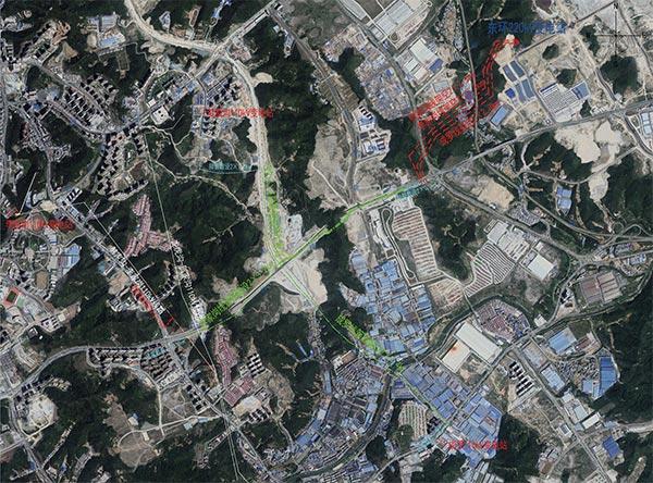 十堰市东环220千伏变电站配套110千伏线路工程规划
