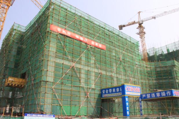华夏浅水湾9月工程进度播报,最高建至12层
