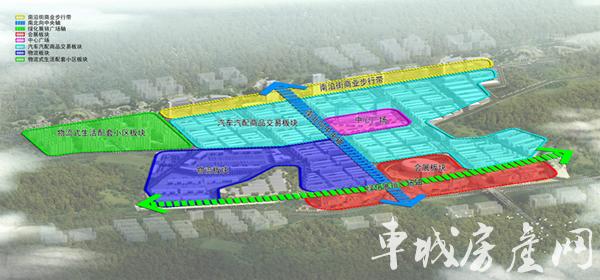 林安国际商贸物流城|平面图