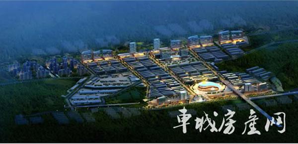 林安国际商贸物流城|效果图