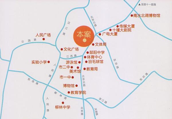 栖谷天街|交通图