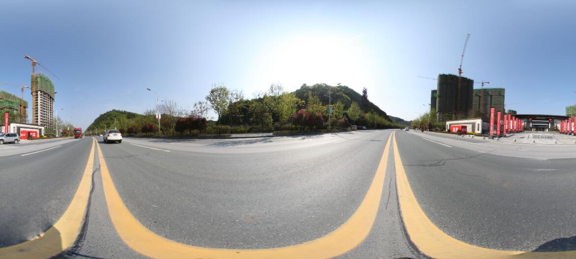 龙记檀府周边街景
