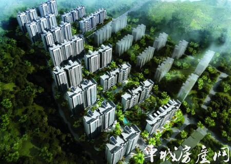 四方新城和园实景